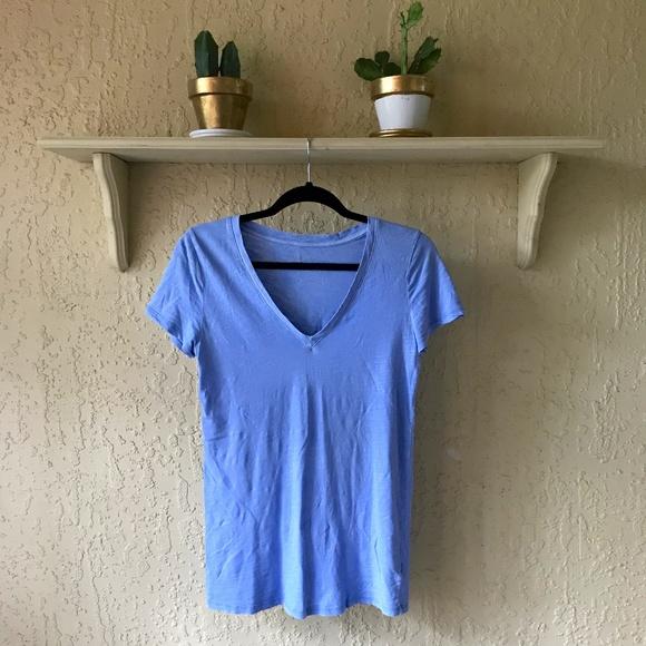 MERONA Periwinkle V-Neck T-Shirt